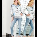 Tricotto Blue Rose Jacket