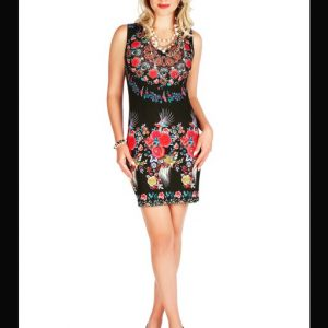 Jane & John Sleeveless Floral Dress