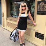 Tricotto Shop Art Black Dress