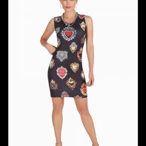 Jeweled Heart Dress