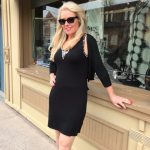 Tricotto Black Bling Dress