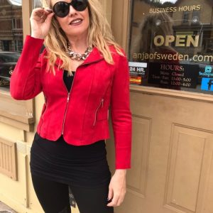 Tricotto Red Jacket