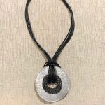 Fashion Disc Necklace