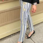 Tricotto Stripe Pants