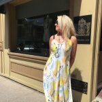 Yellow Stone Dress