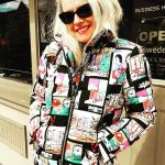 Retro Comic Coat