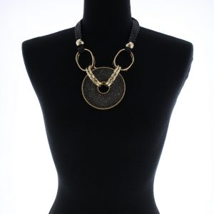 Sparkle Black and Gold Disc