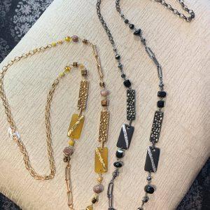 Artsy Long Necklace