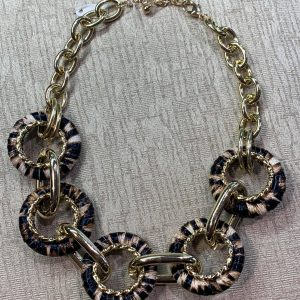 The Gold and Leopard Chain