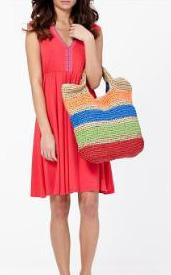Jasmine Woven Straw Bag