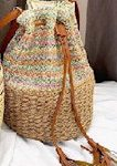 Violet Bucket Bag