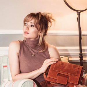 Georgia Camel Handbag